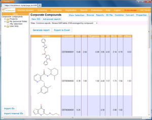 Biocorpora: an easy-to-install platform to share compounds and biological activity results