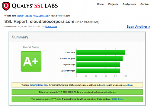 Biocorpora: Secure access control to protect your data